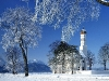 st_coloman_church-germany_in_winter