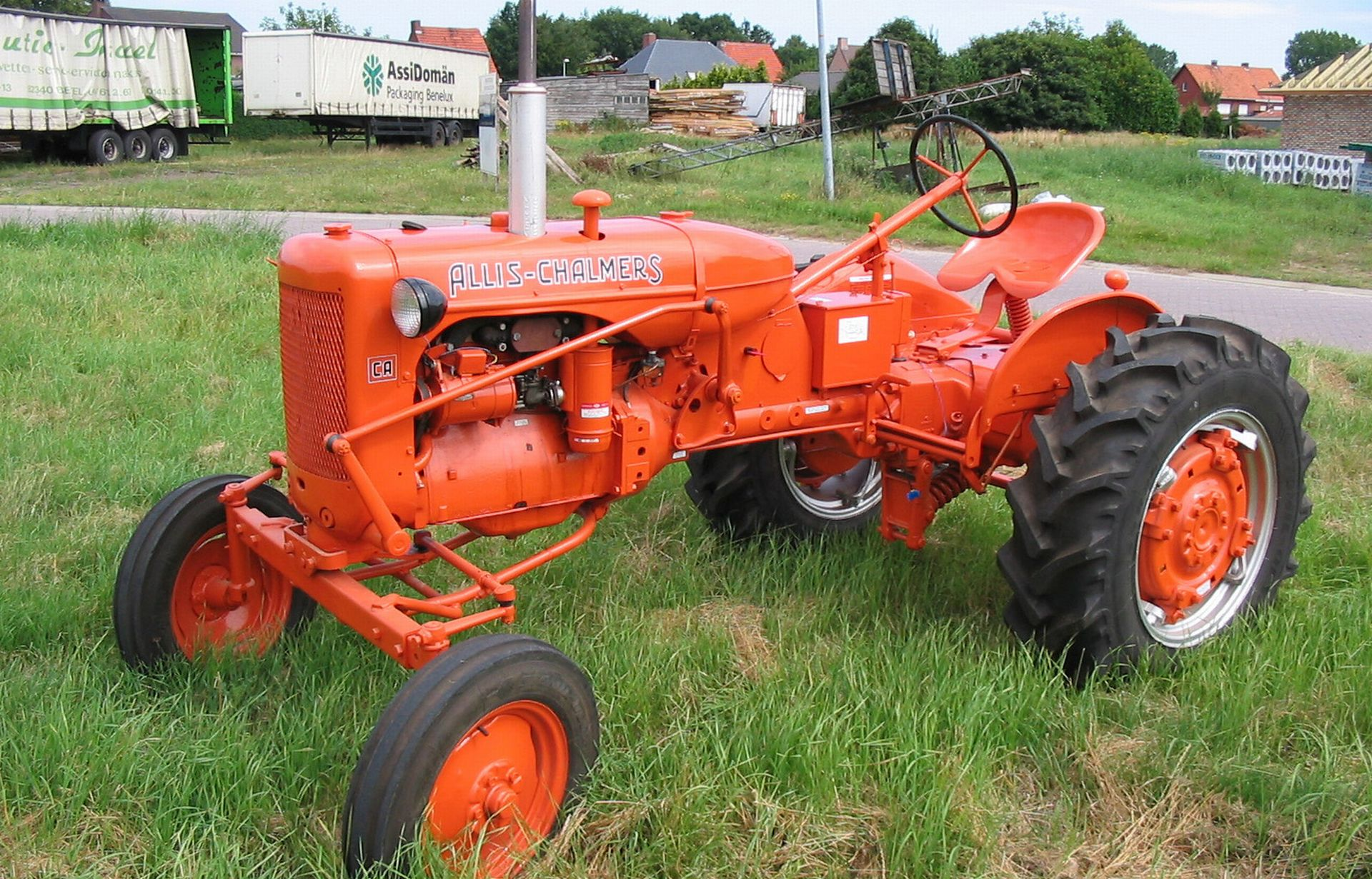 Allis Chalmers Tractor : Tractors wallpapers allis chalmers ca wallpaper view
